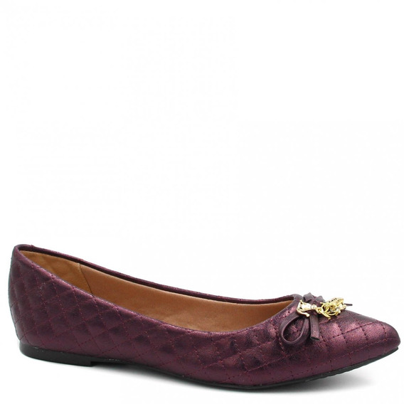 Sapatilha Zariff Shoes Laço Metal 800211645