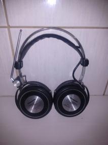 Antigo E Raro Fone De Ouvido Estéreo Fm Panasonic Rf-20