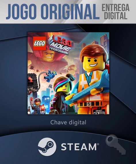 The Lego Movie Videogame Pc Steam Key Código Original