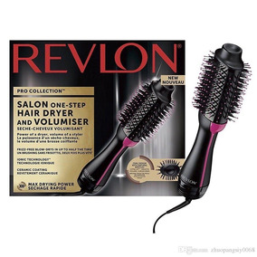 Escova Revlon Salon Oval Secadora E Volumizadora P. Entrega