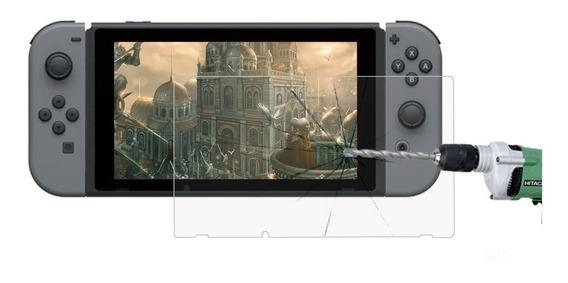 Mica Cristal Templado Pantalla Nintendo Switch 1 Pz Nueva