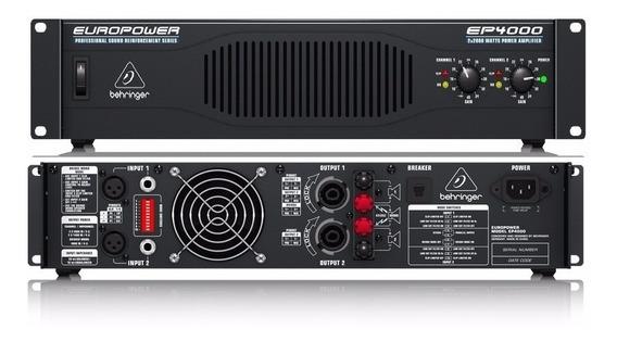 Amplificador Behringer Ep4000 2 Canales 4000 Watts Nuevo