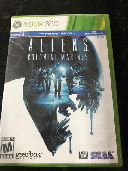 Jogo Xbox 360 Aliens Colonial Marines Original Mídia Física