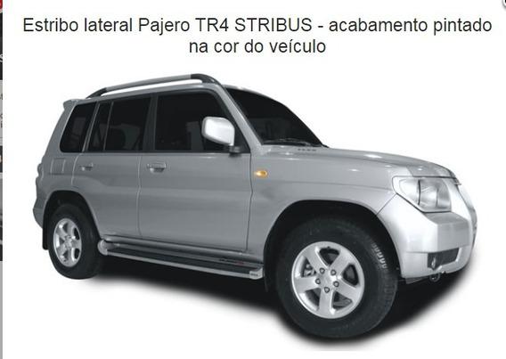 Estribo Mitsubishi Tr4 11/15 Original Na Cor Do Carro Novo