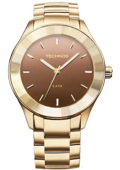 Relógio Technos Feminino Cristais Swarovski 2035lng/4m