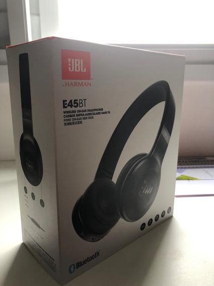 Fone De Ouvido Sem Fio Jbl E45bt Bluetooth+microfone Usado