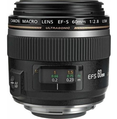 Lente Ef-s 60mm F/2.8 Macro Usm Canon - Oportunidade