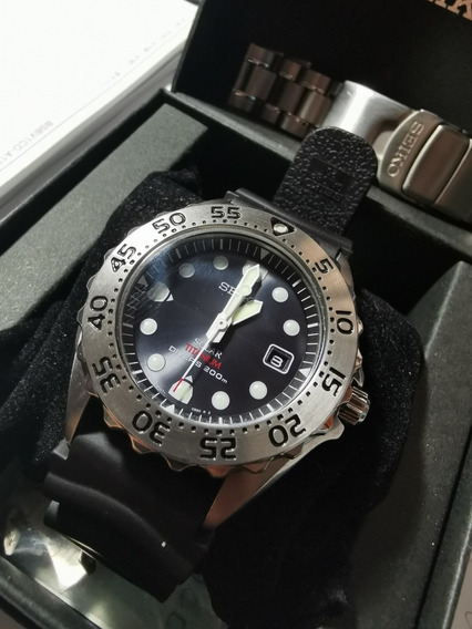 Relógio Seiko Prospex Divers Solar Titânio Sbdn013