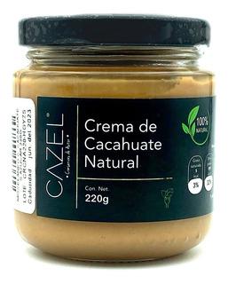 Crema De Cacahuate Oaxaqueño Sin Azúcar 100% Natural 220g