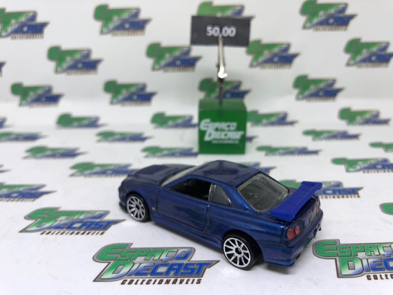 Nissan Skyline Gt-r R34 2010 New Models Hot Wheels Loose