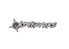 Emblema Adventure Adesivo Dobló (pequeno)