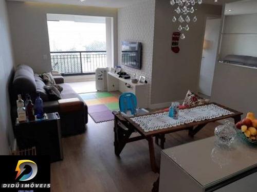 Imagem 1 de 20 de Lindo Apartamento Com 70 M²  Na Vila Andrade, Sendo 3 Dormitórios, 1 Suíte, 1 Vaga, Lazer Completíssimo!! - Ap07716 - 69537630