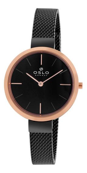 Relógio Oslo Oftsss9t0001 G1gx Aco Inox Feminino