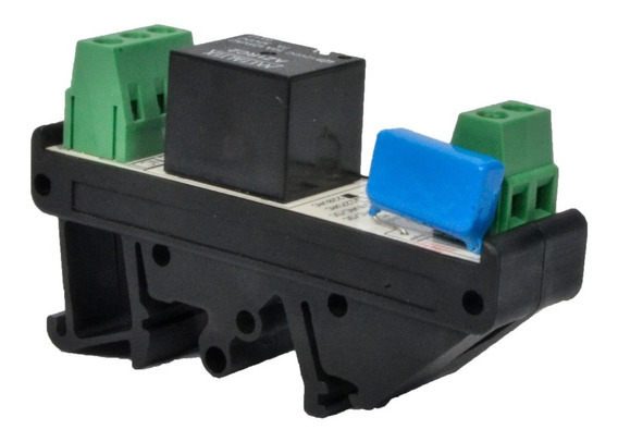 Interface Rele 220vac Simples Kit 10pçs Borne Rele