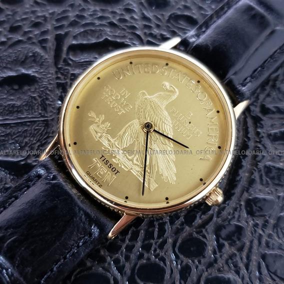 Relógio Tissot Coin Pluribus Unum Suíço