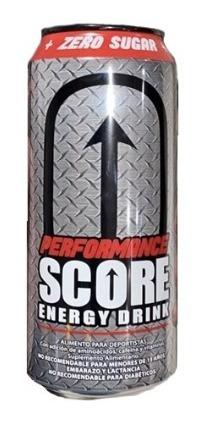 Energética Score Performance  R. Velvet  500cc (24 Unidades)