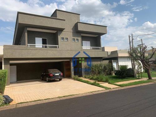 Casa Com 3 Dormitórios À Venda, 393 M² Por R$ 1.650.000,00 - Parque Residencial Damha Iv - São José Do Rio Preto/sp - Ca2147