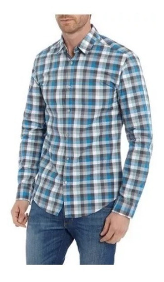Padrísima Camisa Hugo Boss Green Mediana (modern Fit) Origin