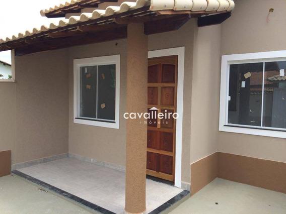 Casa Com Churrasqueira À Venda, Jardim Atlântico Central (itaipuaçu), Maricá. - Ca3142