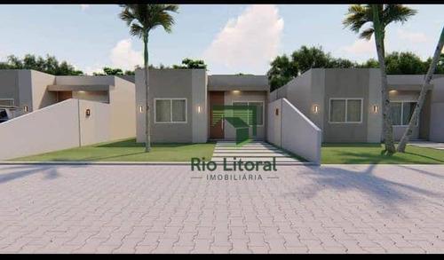 Casa À Venda, 52 M² Por R$ 230.000,00 - Chácara Mariléa - Rio Das Ostras/rj - Ca1041