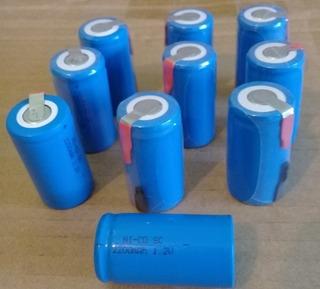 Pilas Bateria Recargable Industrial C Taladro Destornillador