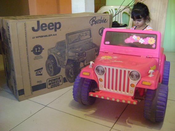 Jeep Barbie Fisher Price Power Wheel Original