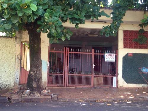 Casa Residencial À Venda, Geraldo Correia De Carvalho, Ribeirão Preto. - Ca0014