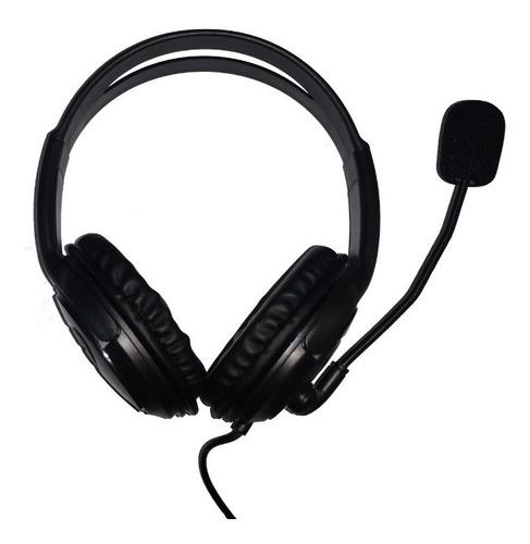 Audífonos Con Micrófono Usb Xue X-100u Diadema Usb