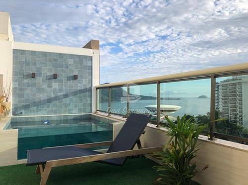 Cobertura Com 3 Dormitórios À Venda, 239 M² Por R$ 2.800.000,00 - Ingá - Niterói/rj - Co0075