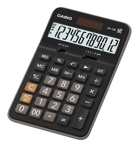Calculadora Casio Escritorio Ax-12b