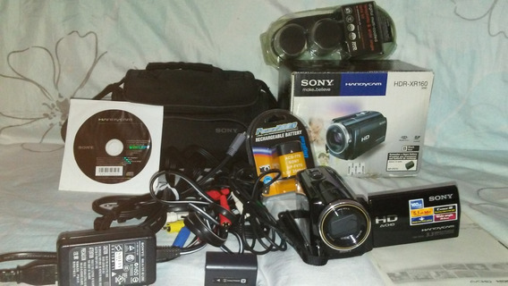 Camara De Video Sony Hd Con Disco Duro 160gb Hdr-xr160