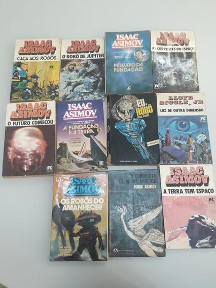 Kit 11 Livros Clássicos - Isaac Asimov - Ficção Científica