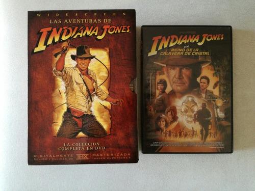 Colección Completa Indiana Jones - Box 5 Dvd Originales
