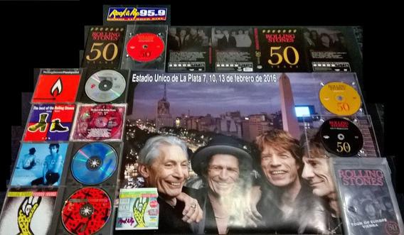 Cd Rollings Stones Dvd Entrada Del95 Flash Pointcombo