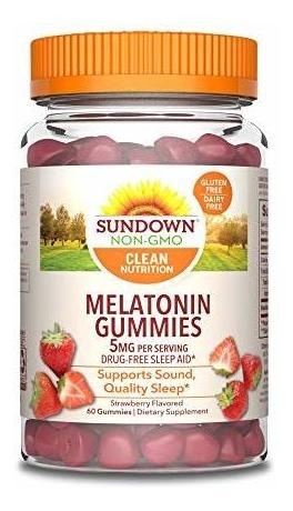 Sundown Naturals Melatonin 5 Milligram Gummies (count 60),