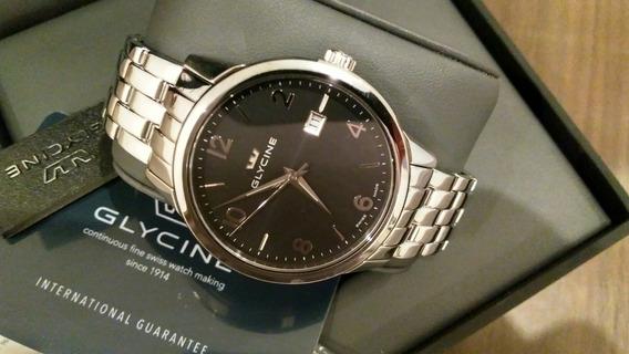 Relógio Glycine Classic Original Quartz Novo
