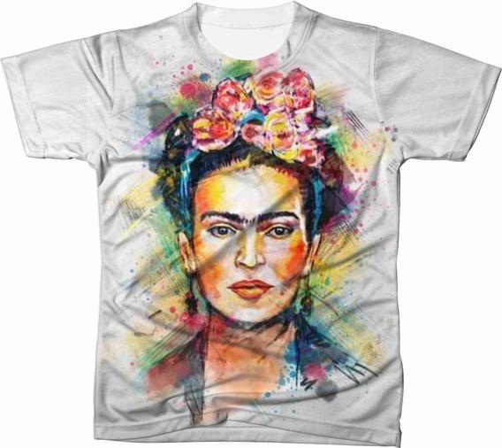 Camiseta Camisa Blusa Frida Kahlo Feminista 11
