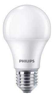 Pack X10 Lamparas Philips Foco Bulbo Led 220v 12w = 95w E27