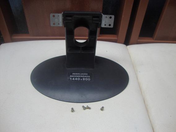 Pezinho Base Do Monitor Cce Lwi-148 Com Parafusos De Fixação