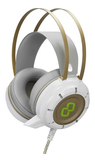 Fone Gamer Gt Luminous 7.1 Surround Branco - Goldentec