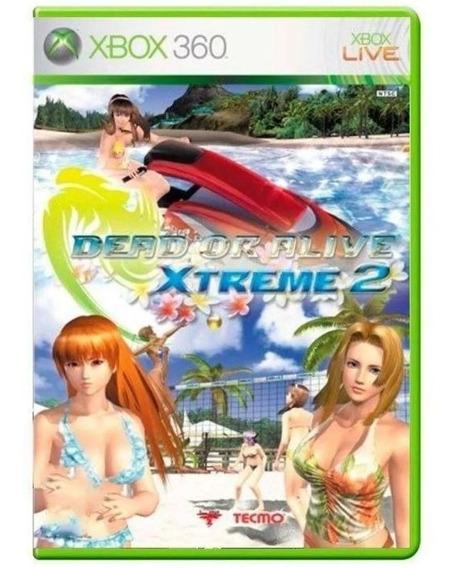 Dead Or Alive Xtreme 2 Xbox 360 Midia Fisica Usado