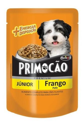 Pouch Perro Primocao Junior Pollo 100 Grs (caja X12)