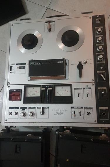 Grabador Sony (1969) Tc 630 Vintage Reel To Reel ( 120 $)
