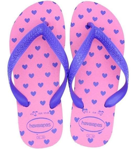 Chinelo Havaianas Color Fun Sandálias Fem 35/36 - 37/38 Rosa