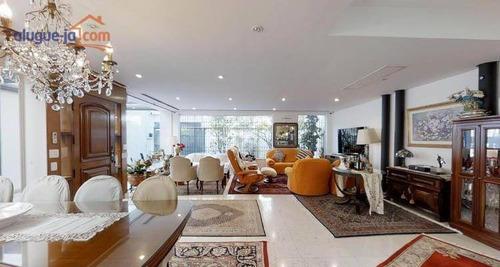 Casa Com 5 Dormitórios À Venda, 238 M² Por R$ 2.200.000 - Planalto Paulista - São Paulo/sp - Ca3635