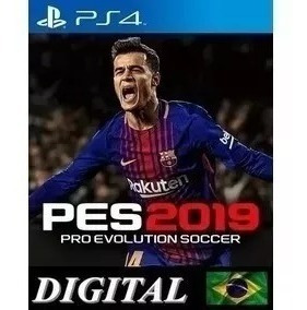 Pes 19 - Ps4 Midia Digital |primaria| Original Promoçao