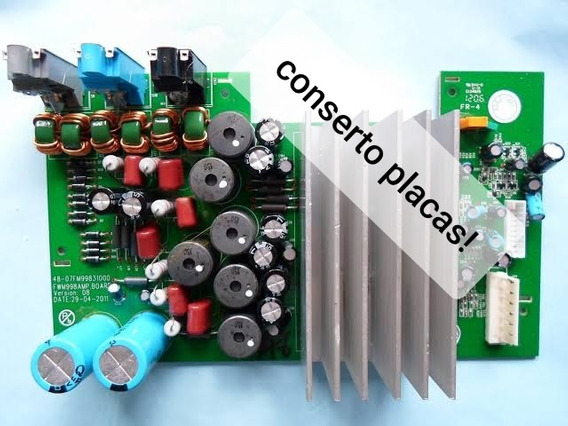 Fwm988 Placa Amplificadora Philips Apenas Conserto Orçament