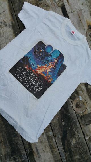 Playera Star Wars Vintage Año 1977 Talla Xxs De Epoca