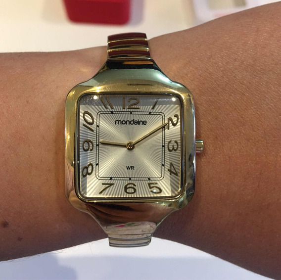 Relógio Mondaine Dourado Feminino 83170lpmndm1