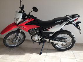 Honda Xr 150l Roja Pocos Km Muy Buena